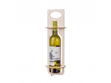 Skládací stojan na láhev vína