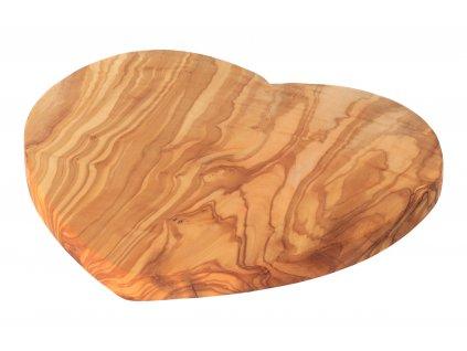Sada 6 hranatých podtácků z olivového dřeva