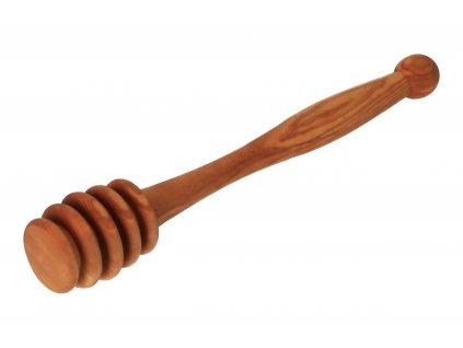 Protiváhový stojan na víno z olivového dřeva