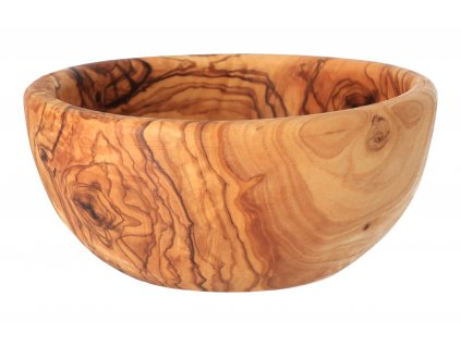 Miska z olivového dřeva - 14 cm