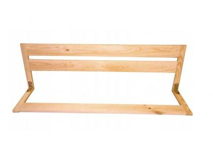 Dřevěná bezpečnostní zábrana do postele 67 cm