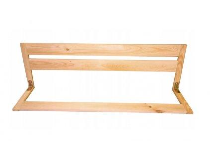 Dřevěná bezpečnostní zábrana do postele 97 cm