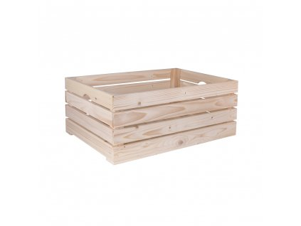 Dřevěná bedýnka 60 x 39 x 24 cm