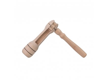 Dřevěná řehtačka