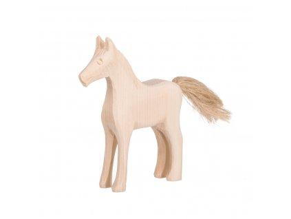 Dřevěný vyřezávaný kůň