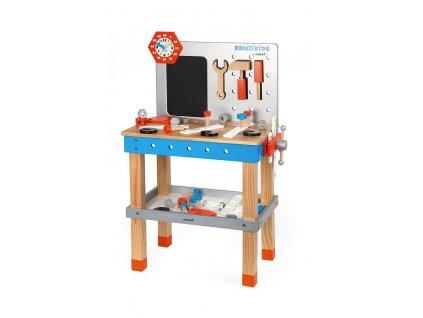 Dřevěná dětská dílna s nářadím 40 ks
