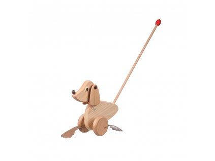 Tlačící hračka - pejsek