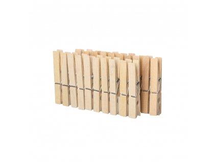 Dřevěné přírodní kolíčky - 20 ks