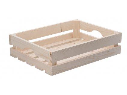 Dřevěná bedýnka 40 x 30 x 10 cm