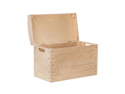 Dřevěná truhla X
