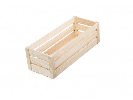 Dřevěná bedýnka maxi