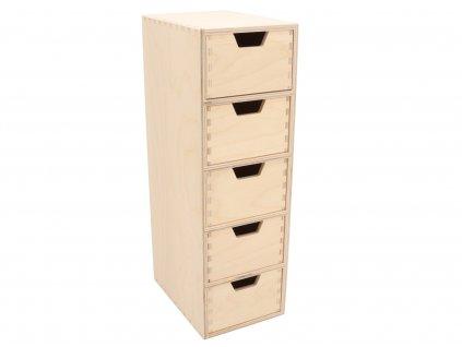 Dřevěný organizér I