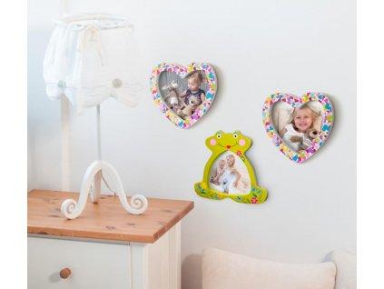 Navlékací korálky - Žabka