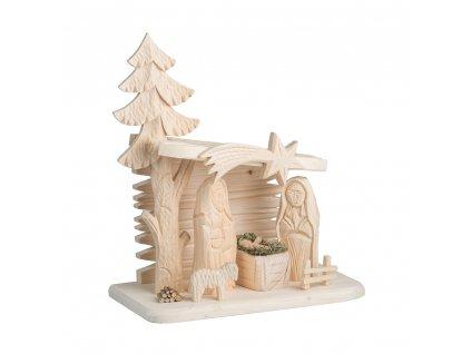 Dřevěný betlém III