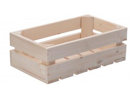 Dřevěná bedýnka 34 x 20 x 12 cm