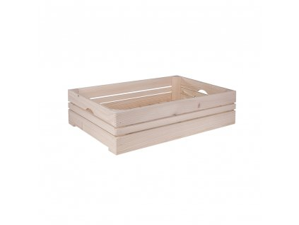 Dřevěná bedýnka 60 x 39 x 15 cm