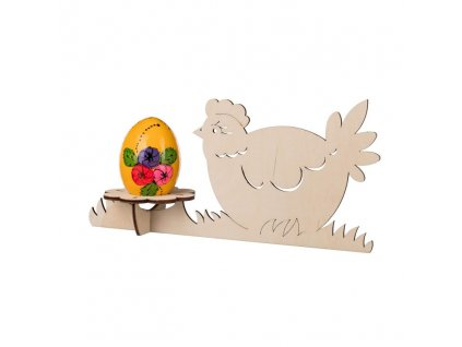 Stojánek na vajíčko - slepička
