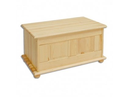 Dřevěná truhla IX
