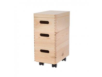 Sestava dřevěných boxů 30X20X14 CM