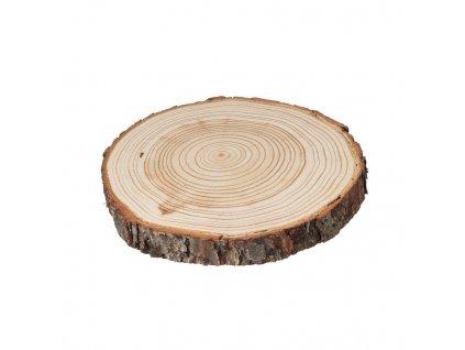 Dřevěná podložka z kmene modřínu 18-25 cm