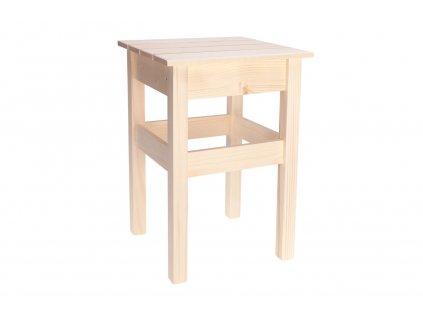 Dřevěná stolička II