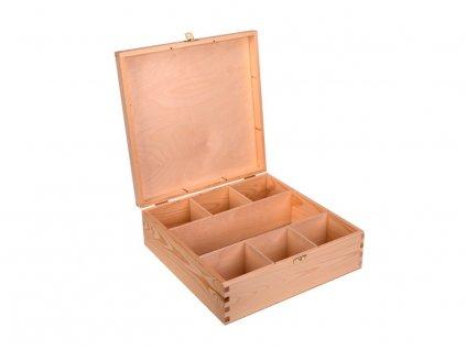 Dřevěná krabička XVII