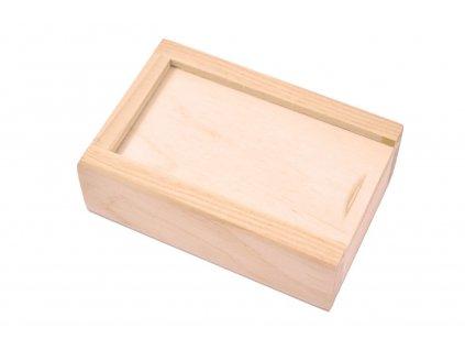 Dřevěná krabička XIX
