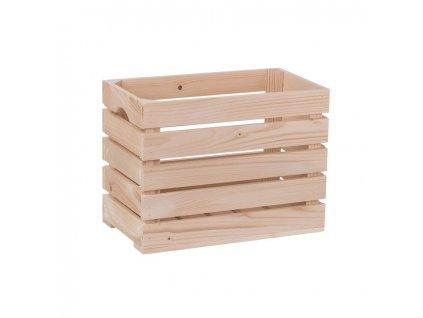 Dřevěná bedýnka 40 x 22 x 30cm
