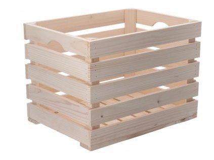 Dřevěná bedýnka 40 x 30 x 30cm