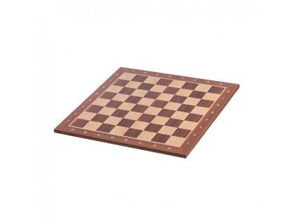 Dřevěná šachová deska 48 x 48 cm