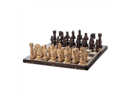 Dřevěné šachy 82 x 82 cm