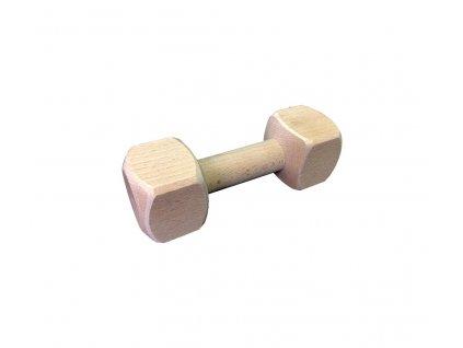Dřevěná aportovací činka - 150g