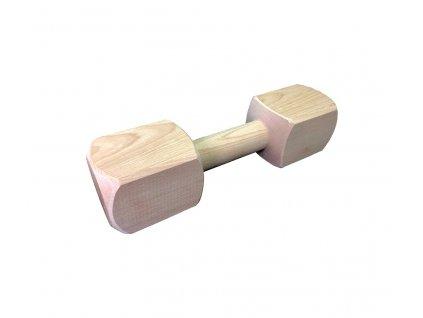 Dřevěná aportovací činka - 650g