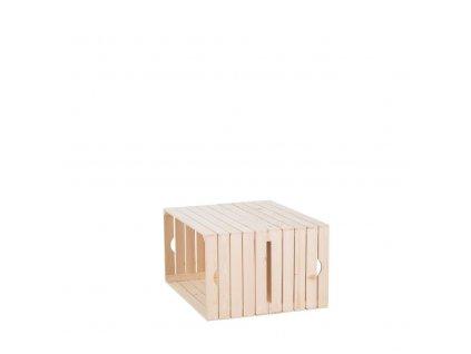 Dřevěné bedýnky konferenční stolek 39x60x60 cm