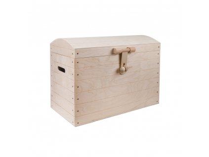Dřevěná truhla I