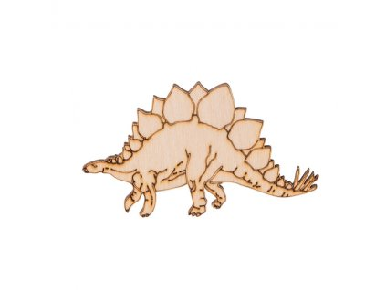 Dřevěný dinosaurus II 6 x 10 cm