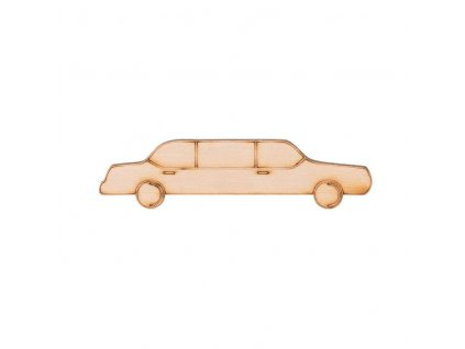 Dřevěná limuzína 2,5 x 10 cm