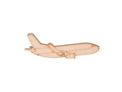 Dřevěné letadlo 4 x 10 cm