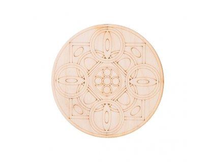 Dřevěná mandala IV