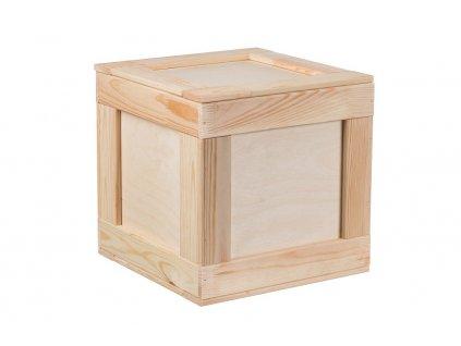 Dřevěný box 30 x 30 cm