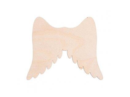 Dřevěná andělská křídla I 11 x 9 cm