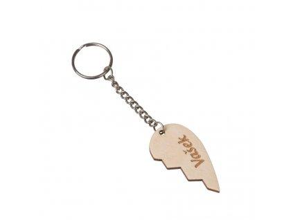 Přívěsek na klíče pro zamilované 2 ks