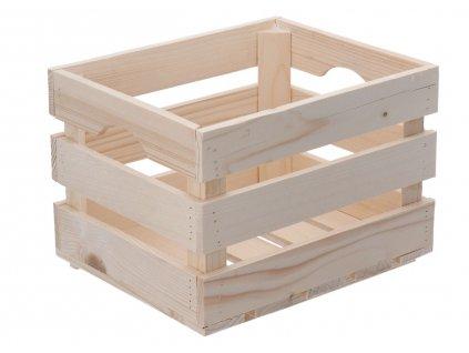 Dřevěná bedýnka 30 x 25 x 20 cm