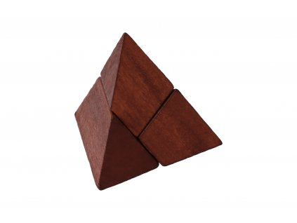Dřevěný hlavolam mini III