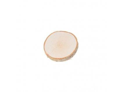Dřevěná podložka z kmene břízy 8-10 cm