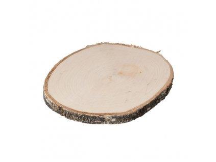 Dřevěná podložka z kmene břízy 15-20 cm
