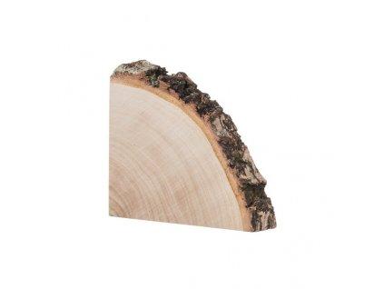 Dřevěná podložka ze čtvrt kmene břízy