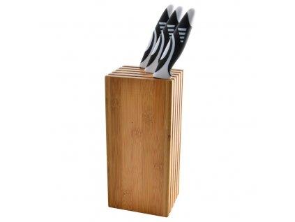 Stojan na nože - hranatý