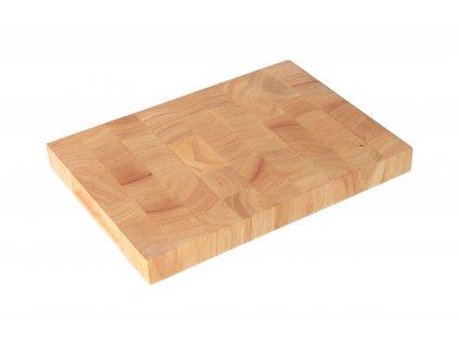 Prkénko gumovníkové dřevo 35x25x3 cm