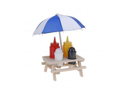 Dochucovací souprava s deštníkem